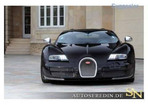 Bugatti Veyron 16.4 Grand Sport Vitesse BLACK CARBON EDI